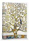 Gustav Klimt - El Árbol De La Vida (Detalle) Cuadro, Lienzo Montado Sobre Bastidor (40 x 30cm)
