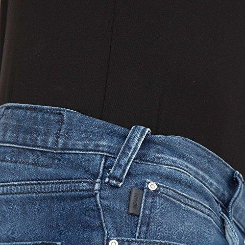 Armani Jeans Men's J45 Blue Slim Fit Jeans Bleu