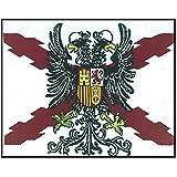 Parche Termoadhesivo de la Bandera de los Tercios de Flandes 7cm