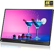 Eyoyo Portable Computer Monitor 4K Gaming Monitor 13.3 inch 3840x2160 UHD IPS Display USB-C Monitor Compatible with Mac Lapto
