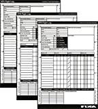 A5VFR Pilot Log Pad (vuelo Plog libro) [3unidades]–para PPL (un), lapl, PPL (H) - Best Reviews Guide
