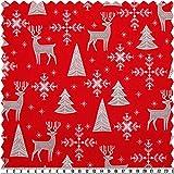 Weihnachts-Baumwoll-Druck, Weihnachtsmotive,