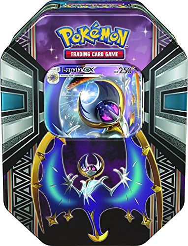 Pokemon - 1x Lunala-GX Tin Box - Frühjahr Tin 2017 - Deutsch