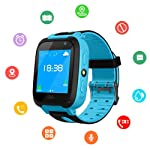 Kids SmartWatch, Waterproof Kids Watch with GPS Positionnement, SOS, Photograph, 1.44 Inch Screen, Call, Support SIM...