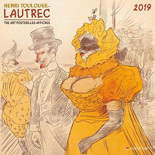 Henri Toulouse-Lautrec - Plakatkunst 2019: Kalender 2019 (Tushita Fine Arts) (Henri-kalender)