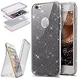 89170cc7fa7 Funda iPhone 6/6S Plus 360 Grados Integral Para Ambas Caras Carcasa,ETSUE  iPhone