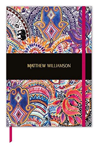 Museums & Galleries Deluxe Blank Journal Matthew Williamson Jaipur Jem