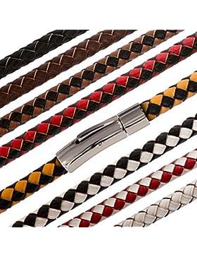 Fly Style® Leder-Kette Halskette