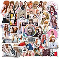 Pop Singer Blackpink Stickers 50PCS for Laptop and Water Bottles,Waterproof Durable Trendy Vinyl Laptop Decal Stickers Pack for Teens, Water Bottles, Computer, Travel Case