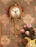 """32 """"stile retr¨° vintage orologio da parete con pendolo"""