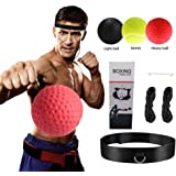 Speed Fighting Skills 3 Difficulty Levels With Headband Agility For Reaction Adult Reflex Coordination JGR SELECT Reflex Boxing Ball Child
