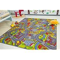 Kids Road Map Playmat Rug City - Children