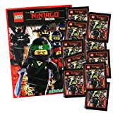 Blue Ocean - The Ninjago Movie Sammelalbum + 10 Booster Packungen (50 Sticker)
