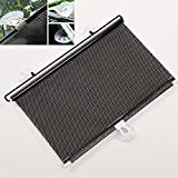 #2: PR CAR SUNSHIELD AUTO Retractable Front Rear Windshield Sun Shade Cover Shield Universal Fit-for d Ecosport