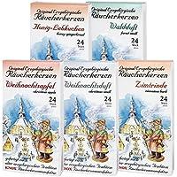 5 Päckchen Knox Räucherkerzen - Waldduft, Honig-Lebkuchen, Weihnachtsapfel, Weihnachtsduft, Zimtrinde. preisvergleich bei billige-tabletten.eu