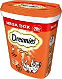 Dreamies Katzensnacks Katzenleckerli MegaBox mit Huhn, 2 Dosen (2 x 350 g), 700 g