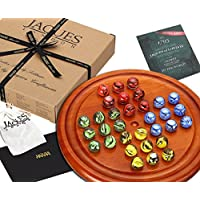 Solitaire - Wooden Solitaire Board Game Set - Jaques of London - Quality Wooden games & Toys Since 1795