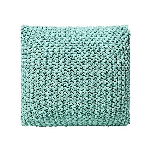 Beliani Sitzsack, Baumwolle, Smaragdgrün, 50 cm