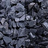Canadian Slate schwarz, 10-20er Korn, Edelsplitte von GSH - 20 kg/Sack