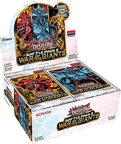 Reservations box Yu-Gi-Oh English Battle Pack 2: War of the Giants Battle Pack 2 - War Of The Giants - 1st Edition (japan import)