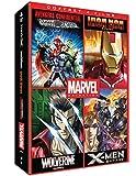Marvel Animés - Coffret: Iron Man + Wolverine + X-Men + Avengers Confidential