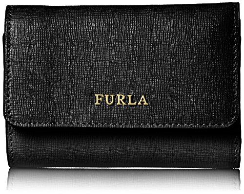 Furla babylon - portafogli donna, nero (onyx), 3.5x8x12 cm (b x h t)