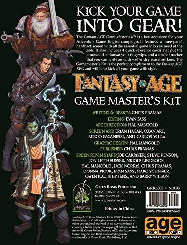 Fantasy AGE Game Master's Kit por Chris Pramas