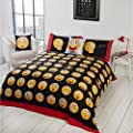 Icons Emoji Reversible Duvet Cover Set - cheap UK light shop.