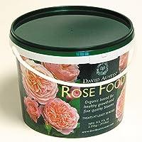"""Rosen-Dünger David Austin""""Rose Food"""" - 2,25 kg Organisch-mineralisch mit Langzeit-Wirkung für gesunde, kräftige Rosen - von Garten Schlüter"""