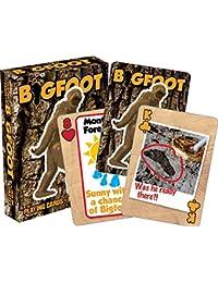 Preisvergleich für Aquarius Bigfoot Spielkarten Deck