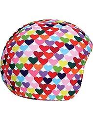 Cool Casc - Funda universal de casco - Corazones Colores