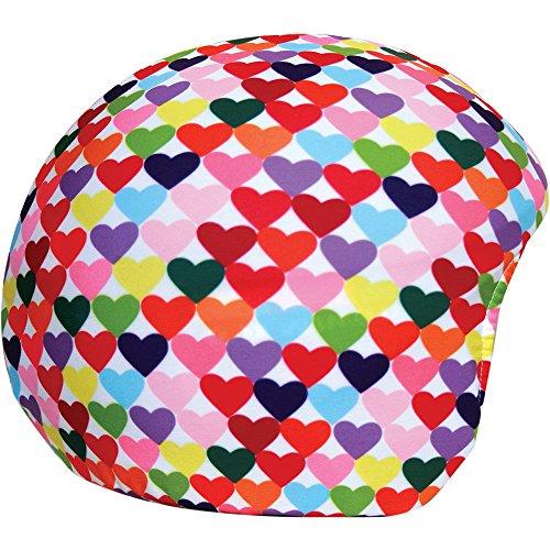 Coolcasc Cœurs Couleurs couvre casque Multicolore