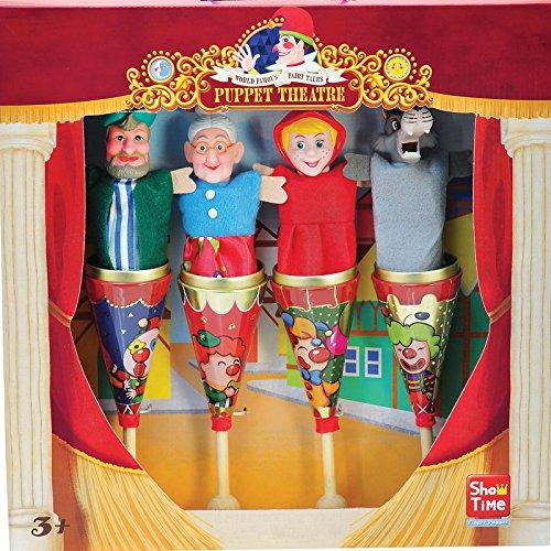 Marionetas cono metal Caperucita Roja