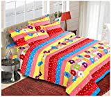 The Chaddar Ploycotton Double Bedsheet w...