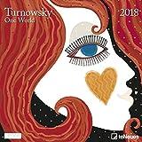 Turnowsky Grid Kalender 2018+ Celebrity Kühlschrank Magnet