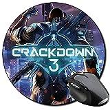 Crackdown 3 Tapis De Souris Ronde Round Mousepad PC