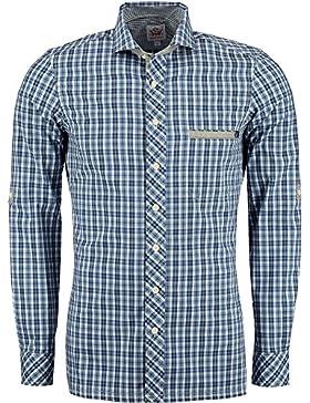 Spieth & Wensky Trachtenhemd Dolf blau kariert