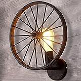 bayc Heer Retro Industry Design ruota lampada da parete in stile loft sala da pranzo Vintage lampada da parete lampada industriale soggiorno Ø 30cm