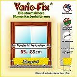 Vario-Fix Spezial Haltebügel für 15cm Blumenkasten mit 65cm Spannstange