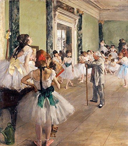 Puzzle Michèle Wilson - La classe de danse de DEGAS - Bois - W015-50