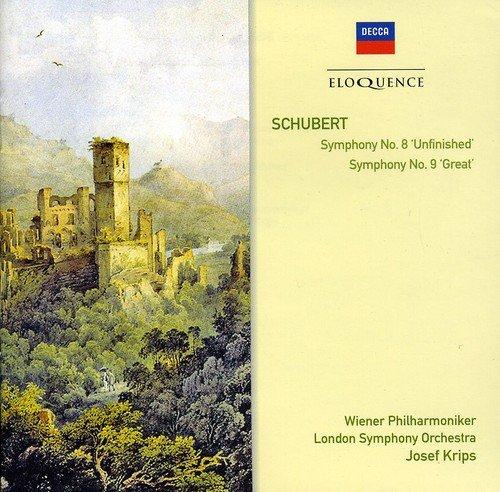 "Schubert : Symphonies n° 8 ""Inachevée et n° 9 ""La Grande [Import allemand]"