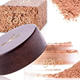 Gaya Cosmetics Foundation Make Up Puder – Vegan Mineral Professionelle Natürliche Full Coverage Foundation Makeup Powder (Schattierung MF3)