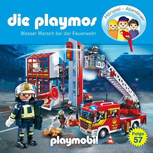 Playmos (57) Wasser Marsch bei der Feuerwehr - floff publishing 2017