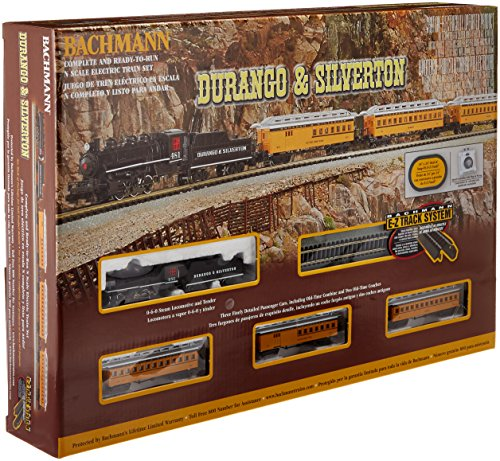 Bachmann Industries Durango und Silverton – N Maßstab Ready to Run Electric Zug Set – für Advanced Enthusiast