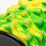 Faszien Rolle, Foamroller »Ishana« Graffiti New Style / Massage- und Therapierollen zur effektiven Selbstmassage / gelb-grün -