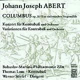 Albert: Columbus Op. 31 / Kontrabasskonzert+B32632
