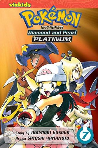 Pokemon Diamond and Pearl Platinum. Volume 7