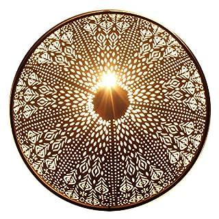 albena shop 71-6 Oriental Wall lamp Metal Round (Rina Black ø 48cm)
