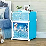 #9: Kriva Plastic Shoe Rack Toys Organizer, 42.9x 36.7x6.8cm (Colour and Design May Very)