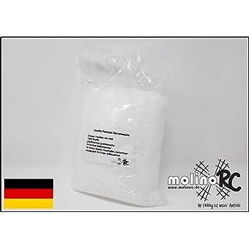 5 kg reines Paraffin 100 /% Kerzenwachs vollraffniert Weiß-Transparent Schmelzpunkt ca 57 C° als Granulat Markenqualität aus Deutschland DW